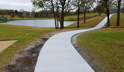 Asphalt & Concrete Contractor Dallas Texas | Renco Construction - sidewalk